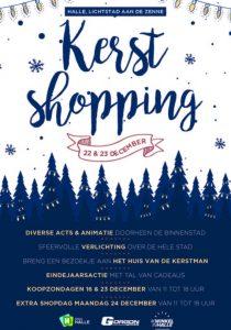 Kerstshoppen Halle met de Verenigde handelaars @ Halle   Halle   Vlaanderen   België